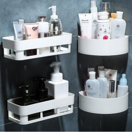 image of Kitchen Bathroom Toothbrush Super Glue Storage Holders & Racks Hook Up Shelves