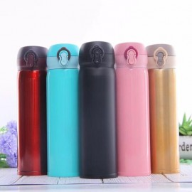image of (READY STOCK)Water Bottle stainless steel insulated thermos double walled vacuum