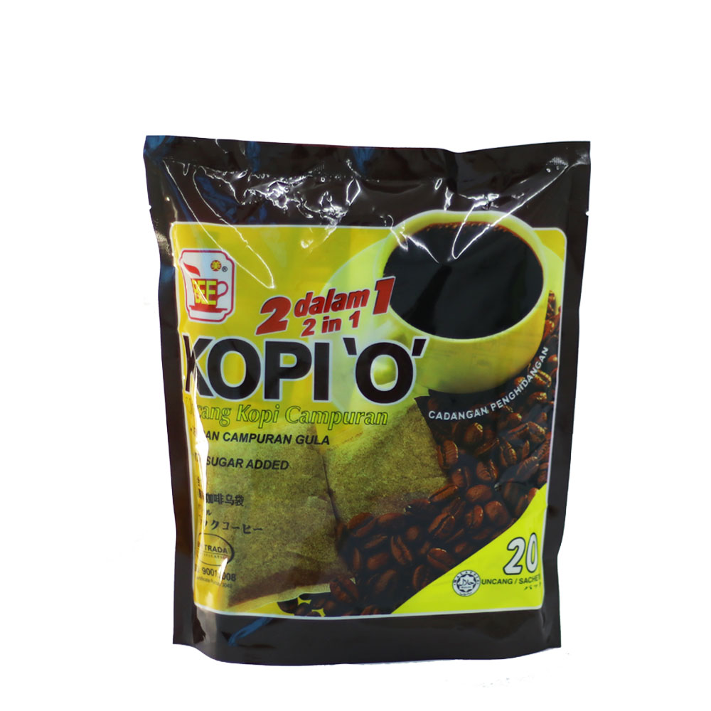 BEE Coffee 2 in 1 Kopi O ( 20 Sachets)