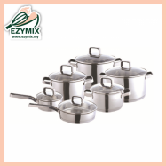 image of CADWARE Premium Series Stainless Steel Cookware Set EE81 (Malaysia)