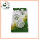 ExyMix 3Pcs Veined Lvy Leaf Plunger Cutter (15-ZN544)