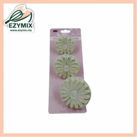image of EzyMix 3Pcs Sunflower Plunger Cutter (15-ZN618)