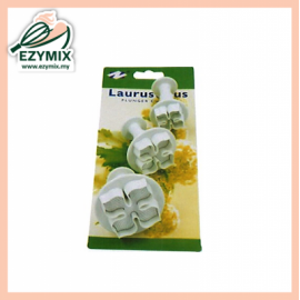 image of EzyMix 3Pcs Laurustinus Plunger Cutter (15-ZN1005)