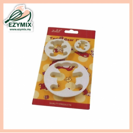 image of EzyMix 3Pcs Bear Cutter (15-C11)