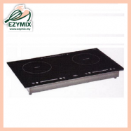 image of CADWARE Two Zones Induction / Ceramic Cooker EE69 (Malaysia)