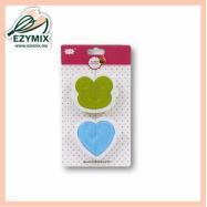 image of EzyMix 2Pcs Sandwich Maker (15-ZN2241)