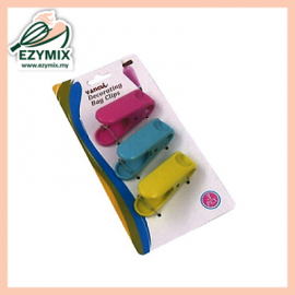 image of EzyMix Set of 3 Deco Bag Clips (63-200023-3)