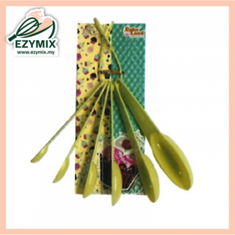 EzyMix 6pcs Measuring Spoon (05-908A6)