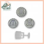 EzyMix 125gm 3pcs RDMooncake Mould (18-125R/3H)