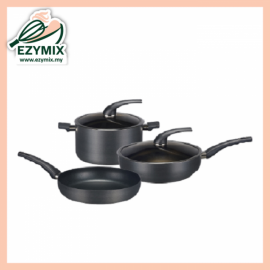 image of CADWARE IH Alumite Cookware Set CP5 (Malaysia)