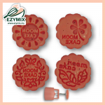EzyMix 50gm 4pcs RD Mooncake Mould (18-50R/4G)