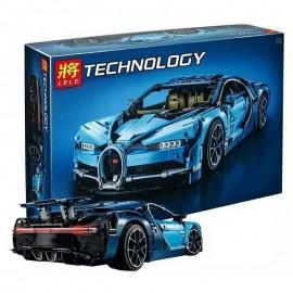image of LELE 30086 Compatible Brick Bugatti Chiron