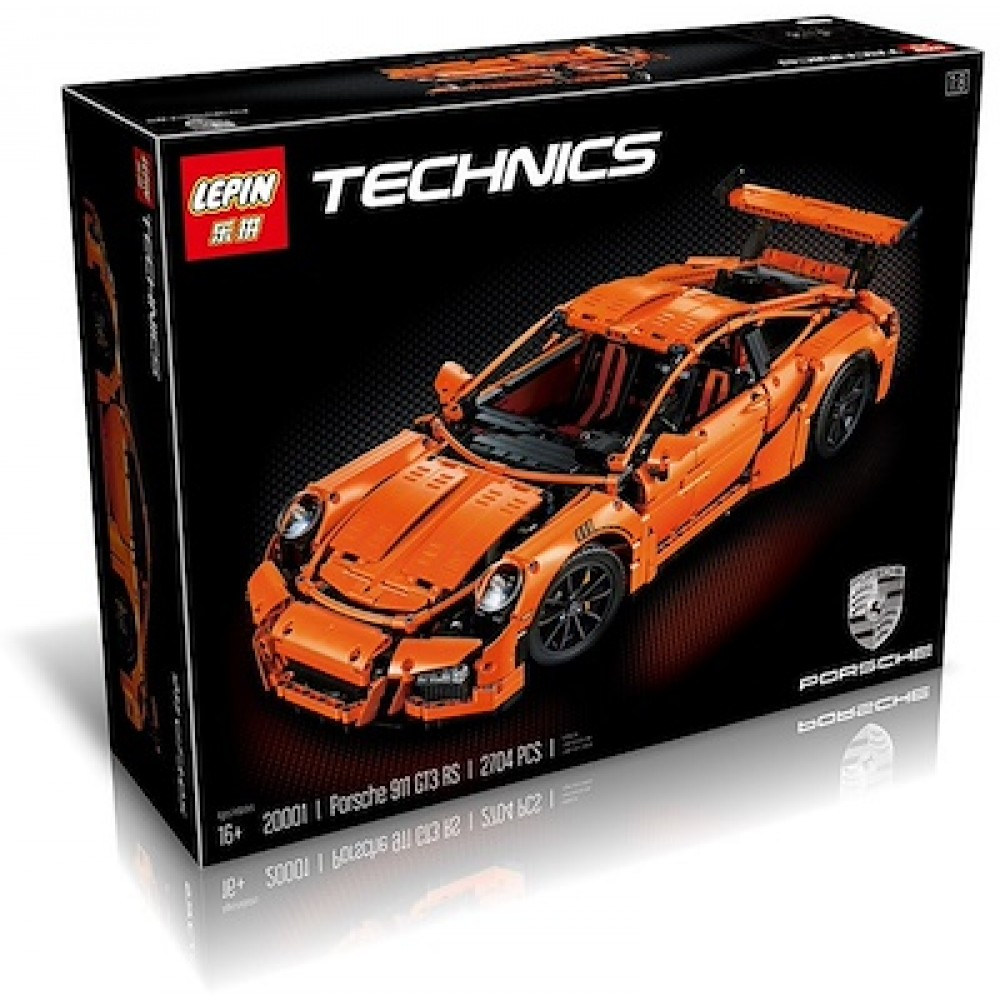 LEPIN 20001 Porsche 911 GT3 Rs Orange