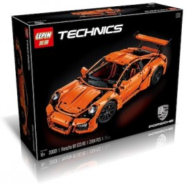 image of LEPIN 20001 Porsche 911 GT3 Rs Orange