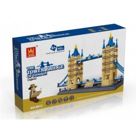image of WANGE 8013 The Tower Bridge Of London, England (1033pcs)