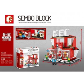 image of SEMBO BLOCK 601018 KFC Restaurant 282 pcs