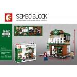 SEMBO BLOCK 601019 STARBUCKS COFFEE 283 pcs