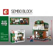 image of SEMBO BLOCK 601019 STARBUCKS COFFEE 283 pcs
