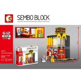 image of SEMBO BLOCK 601021 MCD Restaurant 274 pcs