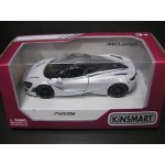 Kinsmart 1:36 Die-cast 2017 McLaren 720S Car Model with Box Collection New Gift