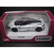 image of Kinsmart 1:36 Die-cast 2017 McLaren 720S Car Model with Box Collection New Gift