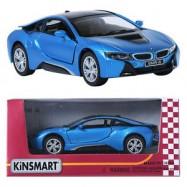 image of KINSMART DIECAST BMW i8 1:32-KB