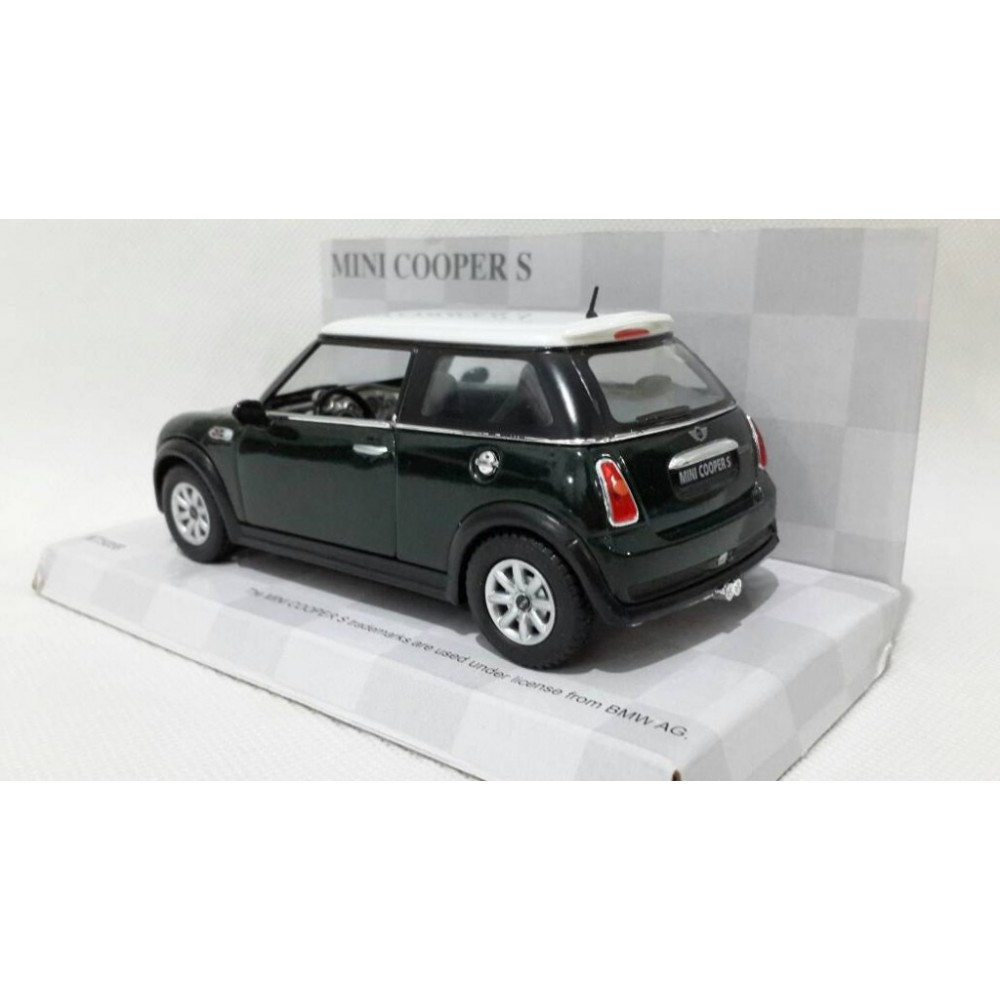 KiNSMART Toy/Diecast Model/1:28 Scale/Mini Cooper S