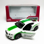 Kinsmart 1:38 Die-cast 2012 Bentley Continental GT Speed Printing Car Model with Box