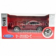 image of Welly 1:34-1:39 Die-cast Mercedes-Benz AMG GT Car Red Color Model Collection
