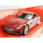Welly 1:34-1:39 Die-cast Mercedes-Benz AMG GT Car Red Color Model Collection
