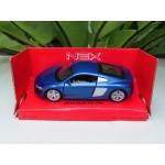 Welly 1:34-1:39 Die-cast 2016 Audi R8 V10 Car Blue Color Model Collection