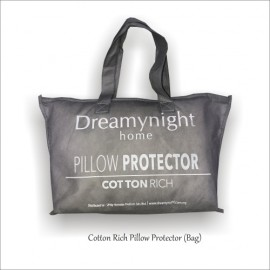 image of Dreamynight Cotton Rich Pillow Protector