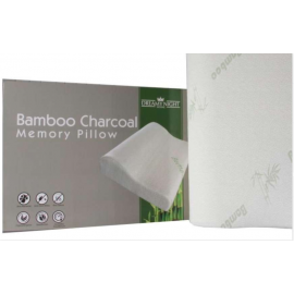 image of Dreamynight Home Memory Foam Bamboo Charcoal Contour Pillow