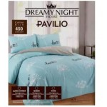 PAVILIO COTTON RICH FITTED SET KINGQUEENSUPER SINGLE