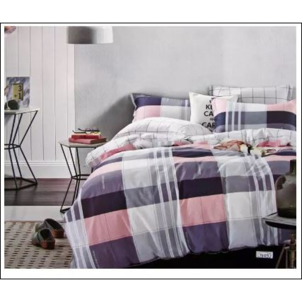 Comfort Night Fitted Set 100% Cotton King/Queen/Super Single
