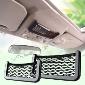 image of Car Storage Net Pocket Organizer Holder