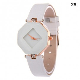 image of Women's Luxury Elegant Ruby Watch GE-007