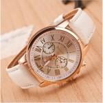 Geneva Women's PU Leather Watch