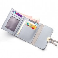 image of Baellerry N1270 Big Space Coin Card Holder Purse Wallet