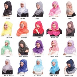 image of Fashion Tudung Sarung / Shawl Headscarf Hijab Chiffon