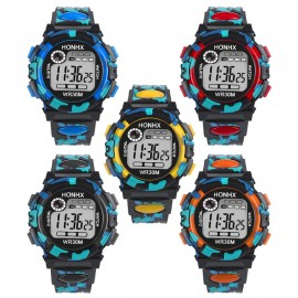 image of HONHX Men's Adult Children Digital Watch