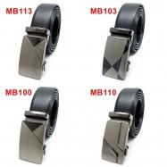 image of Original Automatic Halal Genuine Leather Buckle Men Belt