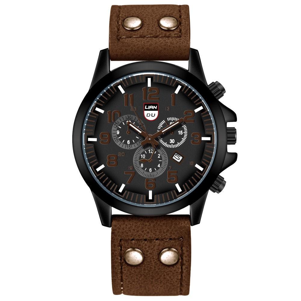 LIANDU Men's Military Fashion Casual Watch