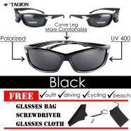image of Tagion Men's Outdoor Sports Polarized Sunglasses