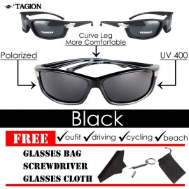 image of Tagion Men's Outdoor Sports Polarized Sunglasses
