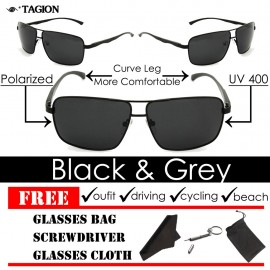 image of Tagion Men's Elegant Fashion Polarized Sunglasses