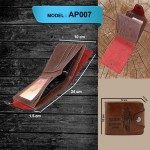 Luxury Fashion Men's PU Leather Wallet Money Clips Purse Wallets
