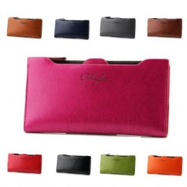 image of PIDENGBAO NSP836 Women's Big Space Lady Purse Wallet (12 Card Slots)