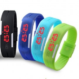 image of Fashionable Touch Screen Magnetic Waterproof LED Watch