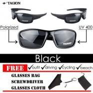 image of Original Tagion UV400 Polarized Lenses Men's Sunglasses